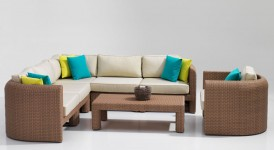 Sienna outdoor Synthetic Sofa Set