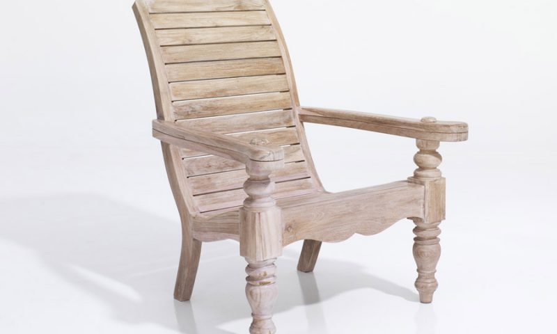Teakwood Planters Chair
