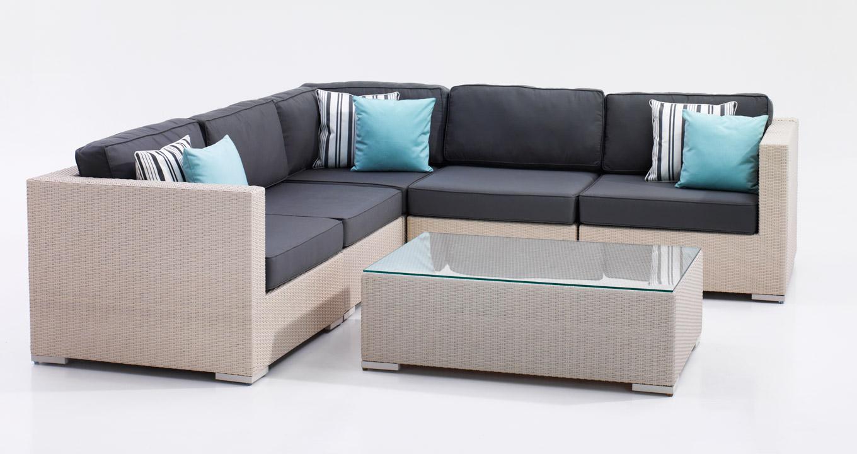 Malta Synthetic Rattan Sofa Set The Warehouse Dubai