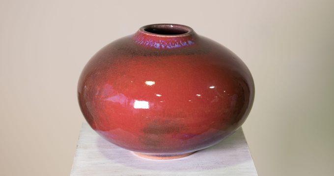 Clay artefact Vase