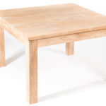 DNMT square teakwood table