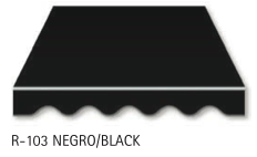 Black Fabric for Canopy