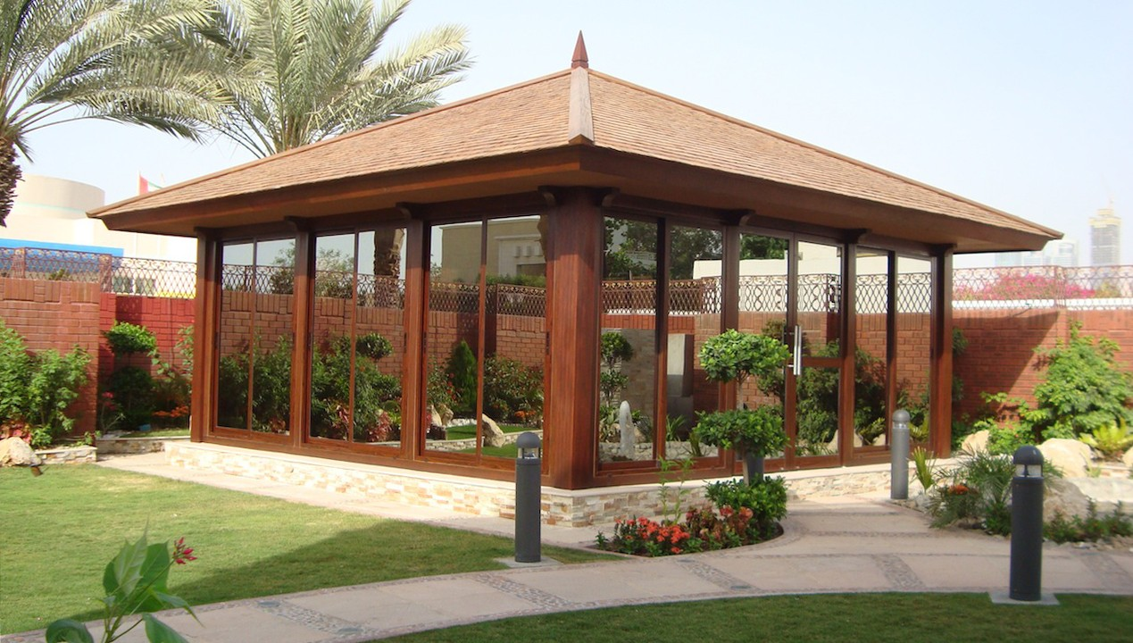 Garden Structure And Summer House The Warehouse Dubai