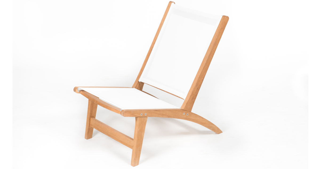 Teak batyline chair