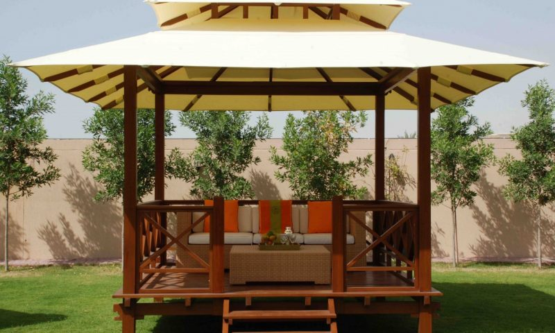 Canvas Roof Gazebos
