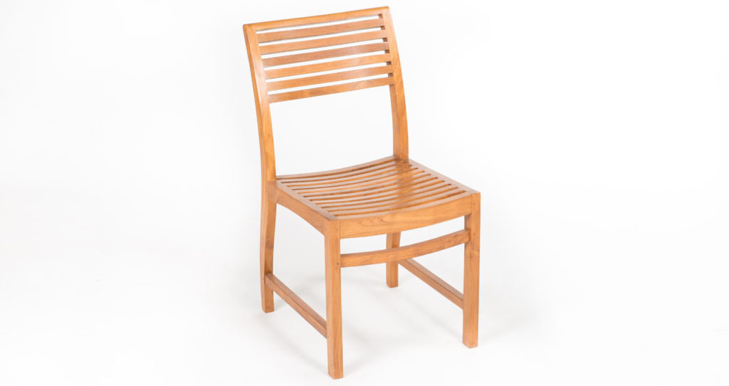 Helena Teak wood outdoor chair