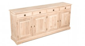 Buffett table with 4 drawers