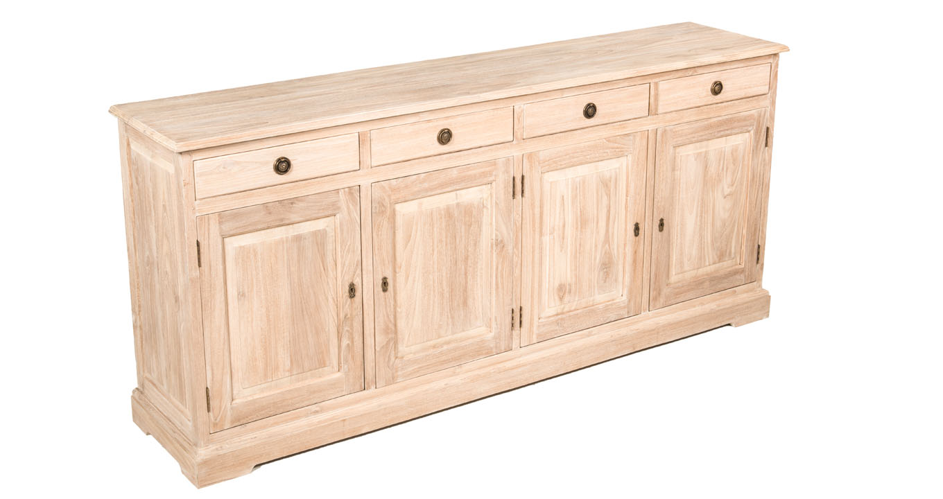 Buffet cabinet in dubai quality indoor furniture Lime washed bedroom furniture