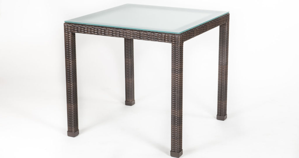 Synthetic Rattan Table
