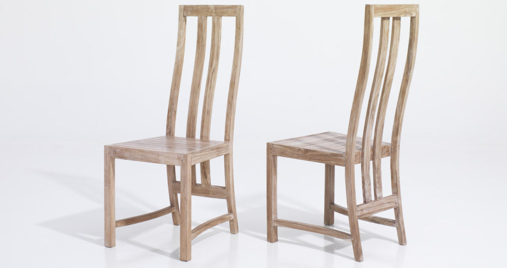 Indoor teak chairs