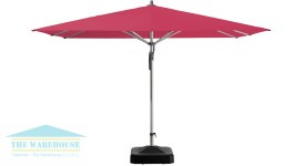 fortero umbrella red canopy