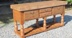 Kitchen Island/ Cabinet - wood