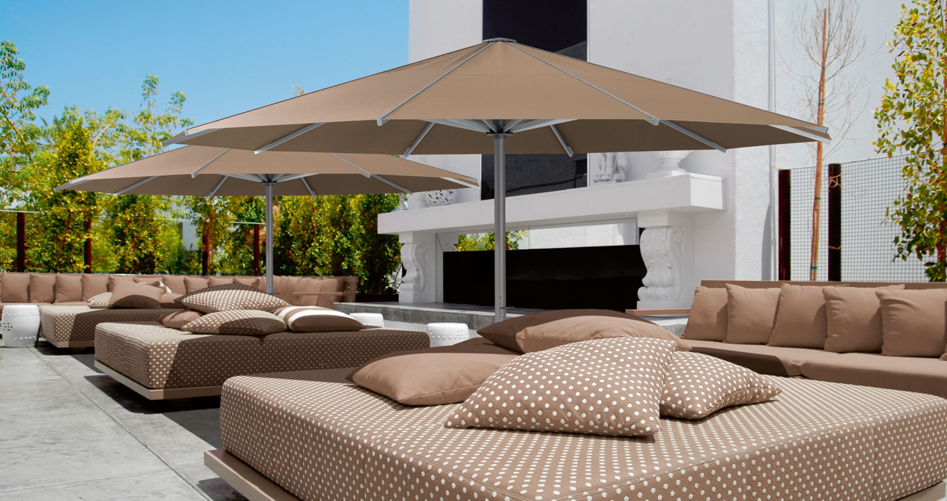 giant glatz palazzo umbrella the warehouse dubai. Black Bedroom Furniture Sets. Home Design Ideas