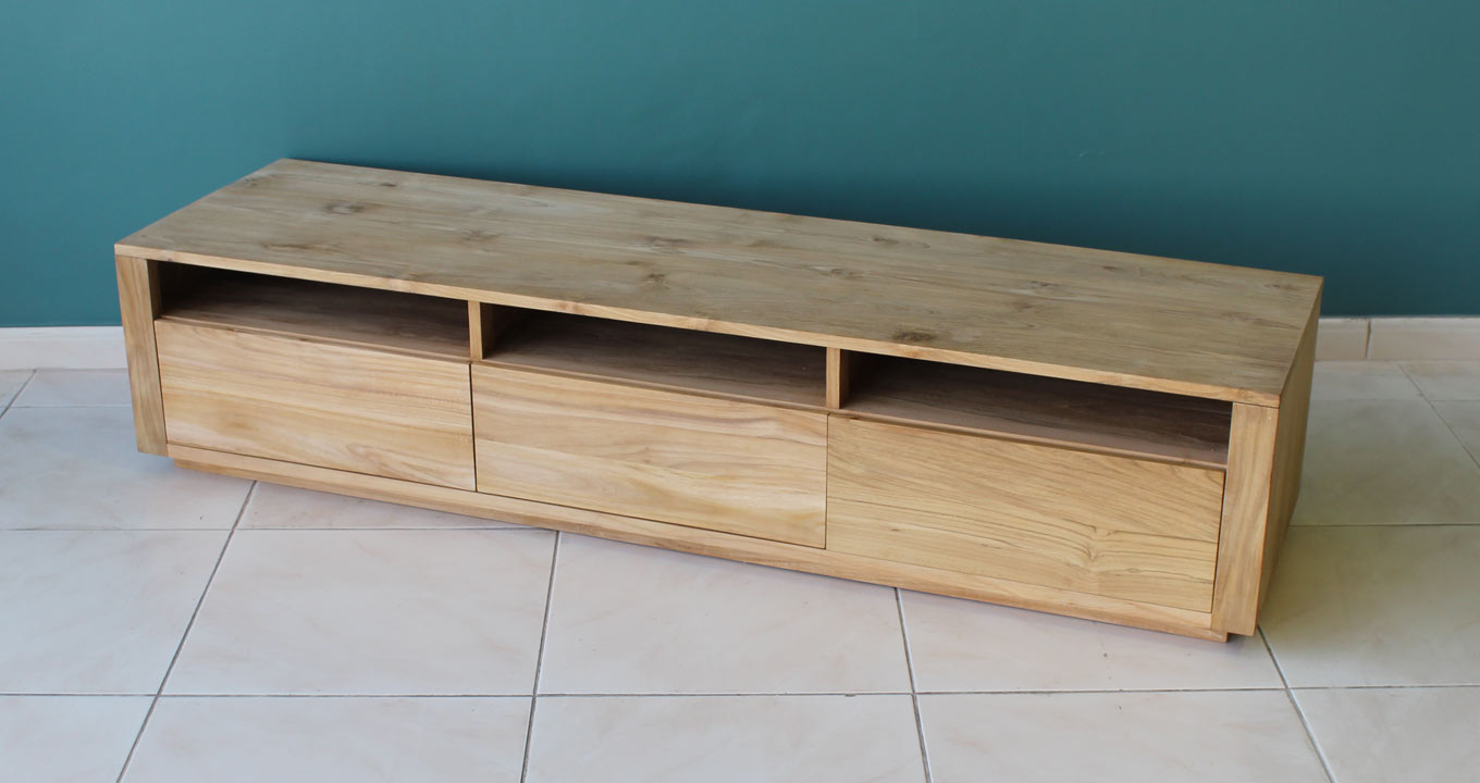 Tv Unit With Drawers Solid Indoor Furniture Dubai