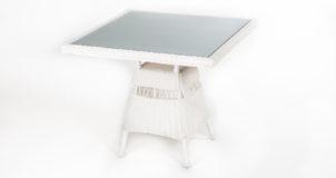 Trieste Square rattan table