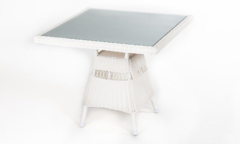 Trieste Square rattan table
