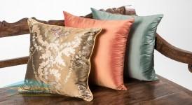 velvet cushions