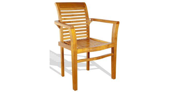 Teak Salibsury outdoor Armchair