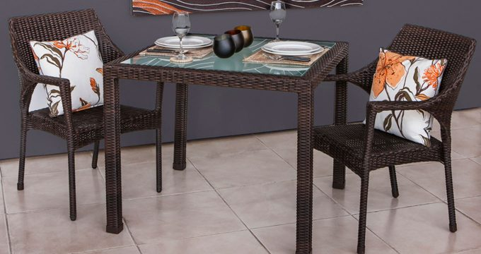 relax rattan dining set