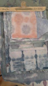 Annie Sloan Shibori Samples