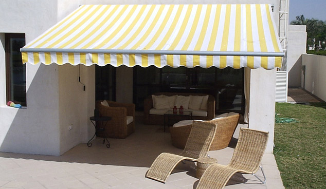terrace Awning in Dubai