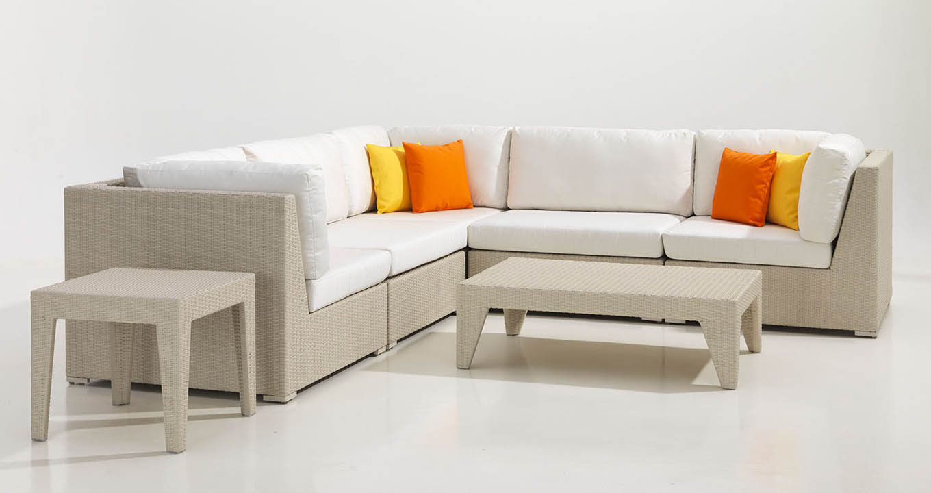 Lucia Modular Rattan Sofa Set Available In Dubai