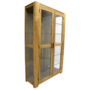 Custom made Teak Cabinet with Glass