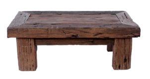 Rail road old wood Coffee table