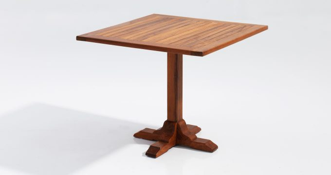 Boston dining table dubai teak outdoor furniture