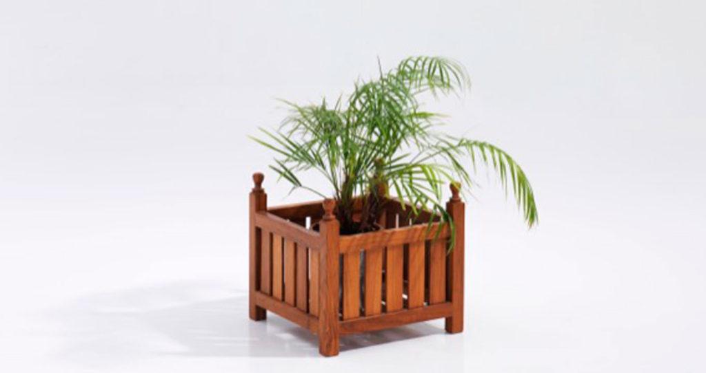 Teak Planters Box