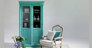 Padi Glass Cabinet