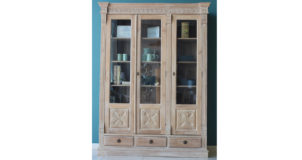 Rosa Glass Wood Cabinet