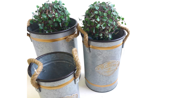 pots decor decorative plastic product ecoventure