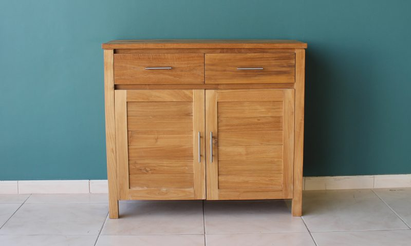 2 door buffet in solid wood