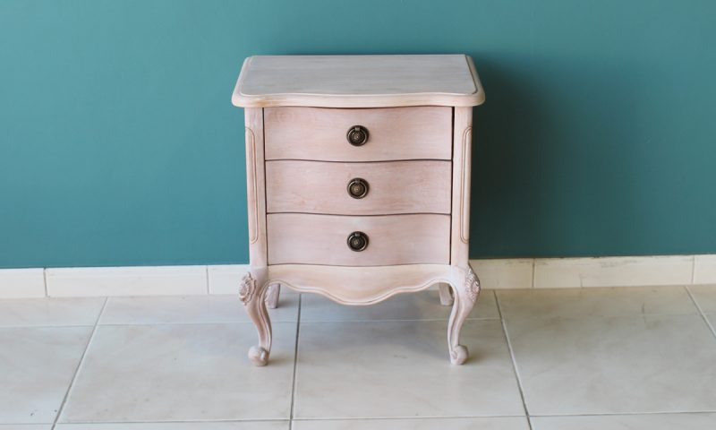 Thornton wood bedside cabinet