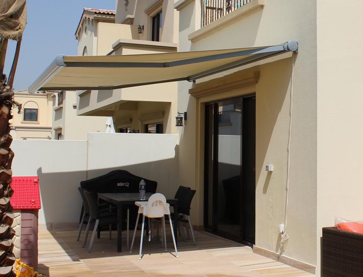 Splenbox Awning in residential villa
