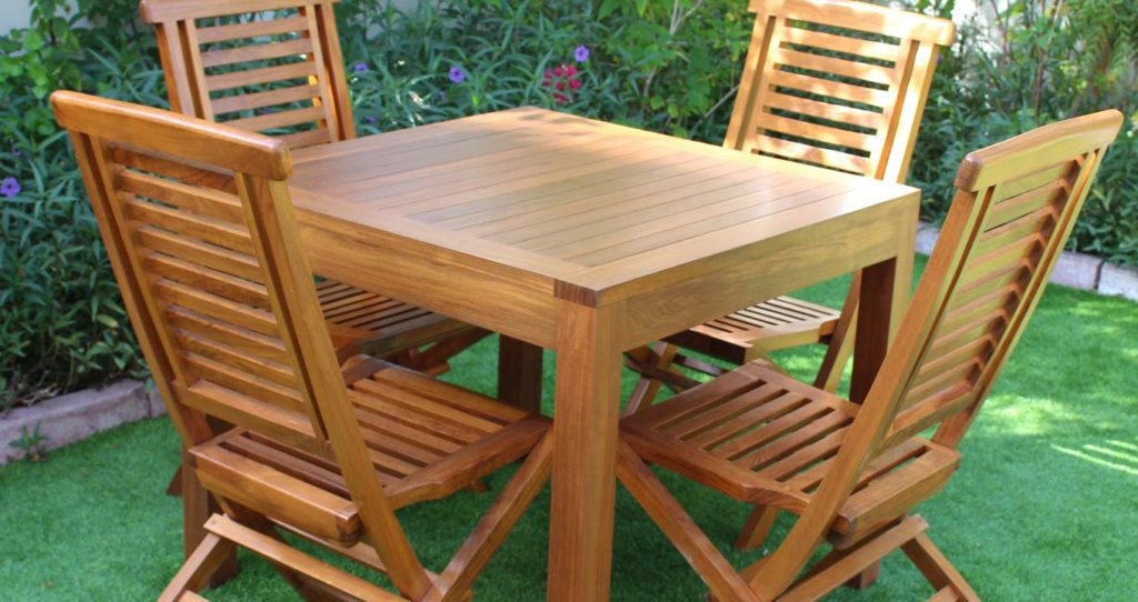 Teak Garden Furniture Dubai Falaknaz The Warehouse