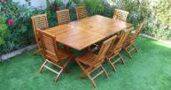 Batavia Extended table set