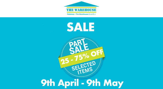 SALE at falaknaz the warehouse
