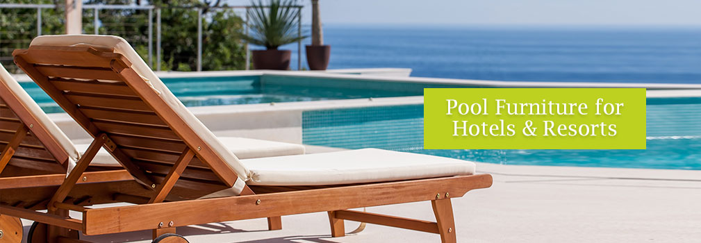 We Can Offer A Range Of Pool Furniture For Hotels And Resorts In The UAE.  Our Range Includes Synthetic Rattan Fibre And Teakwood For The Sun Loungers  And ...
