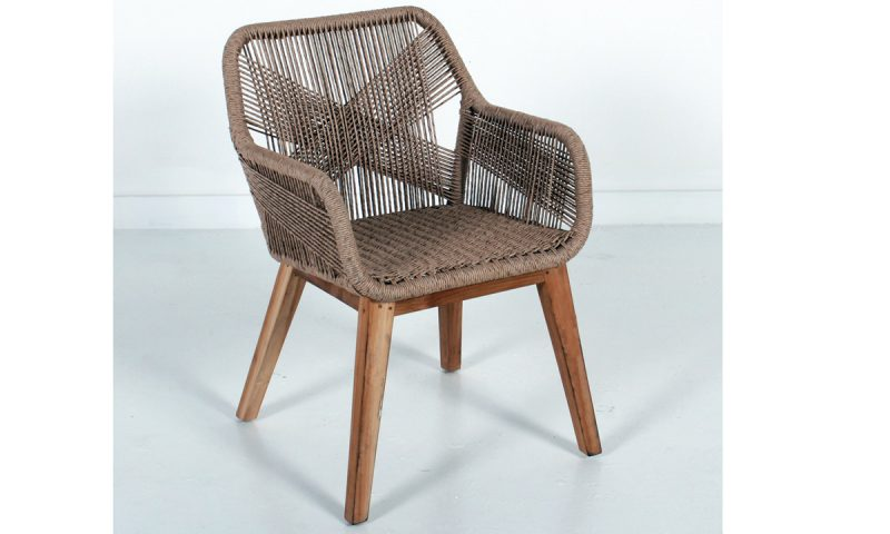 Star Armchair in Teak