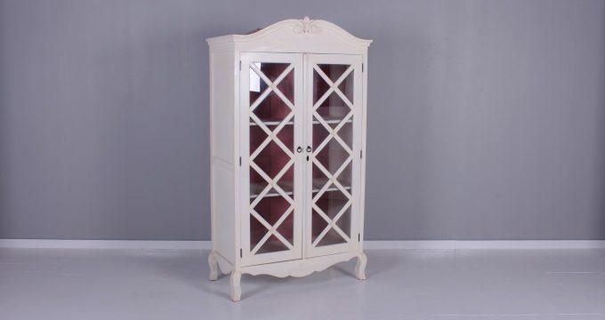 6389 Bookcase 2 Door 4 Shelves | Falaknaz - the Warehouse