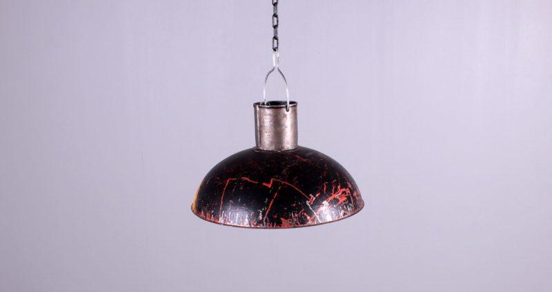 OIL BIN HANGING LAMP WCHAIN