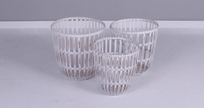 VILLAGE BAMBOO BASKET | Falaknaz - the Warehouse