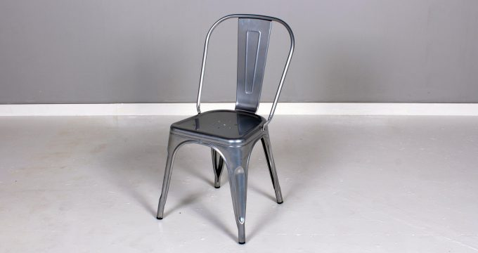 Texas Chair with metal finish