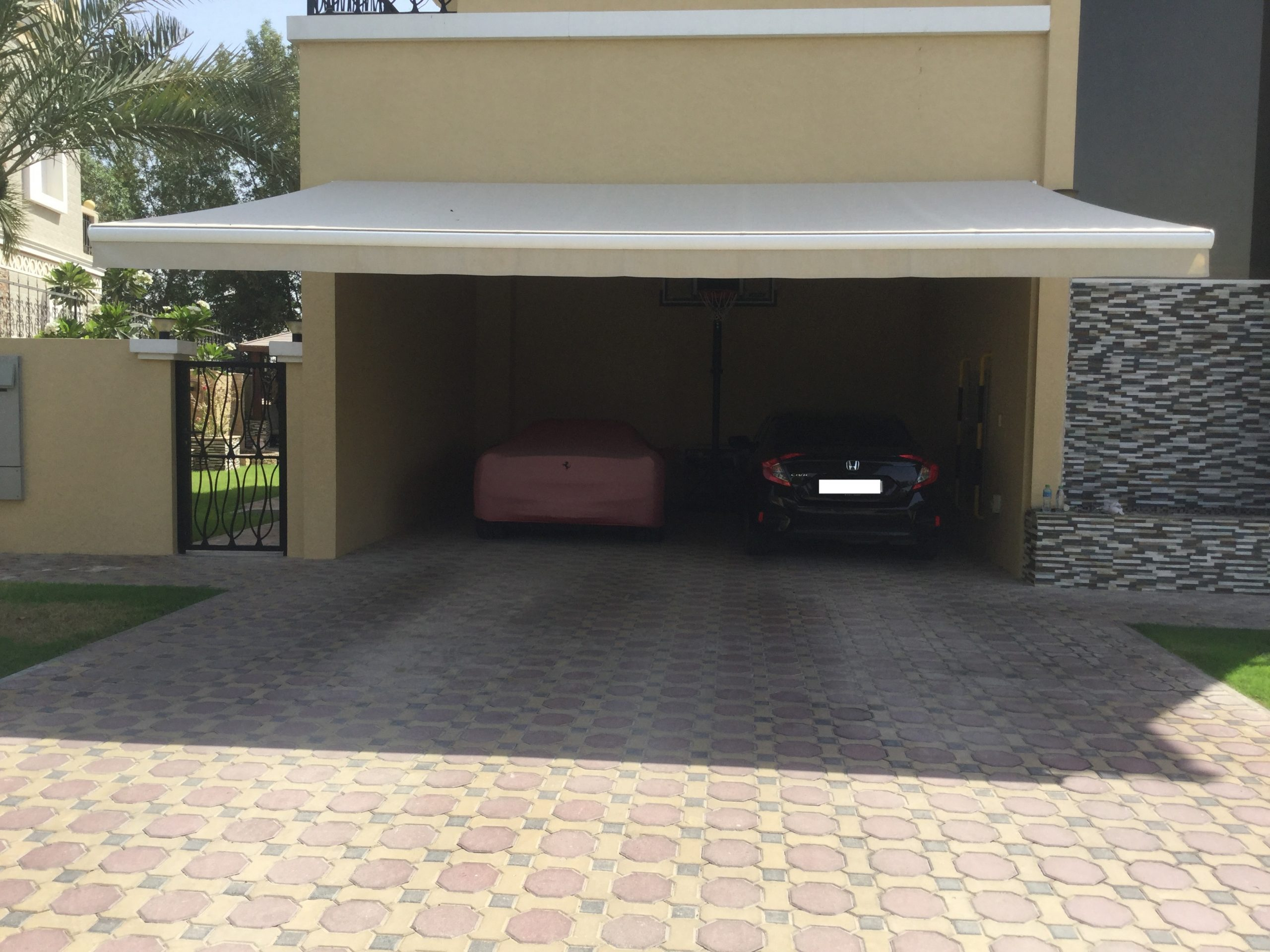 Arabian Ranches Carport Awning