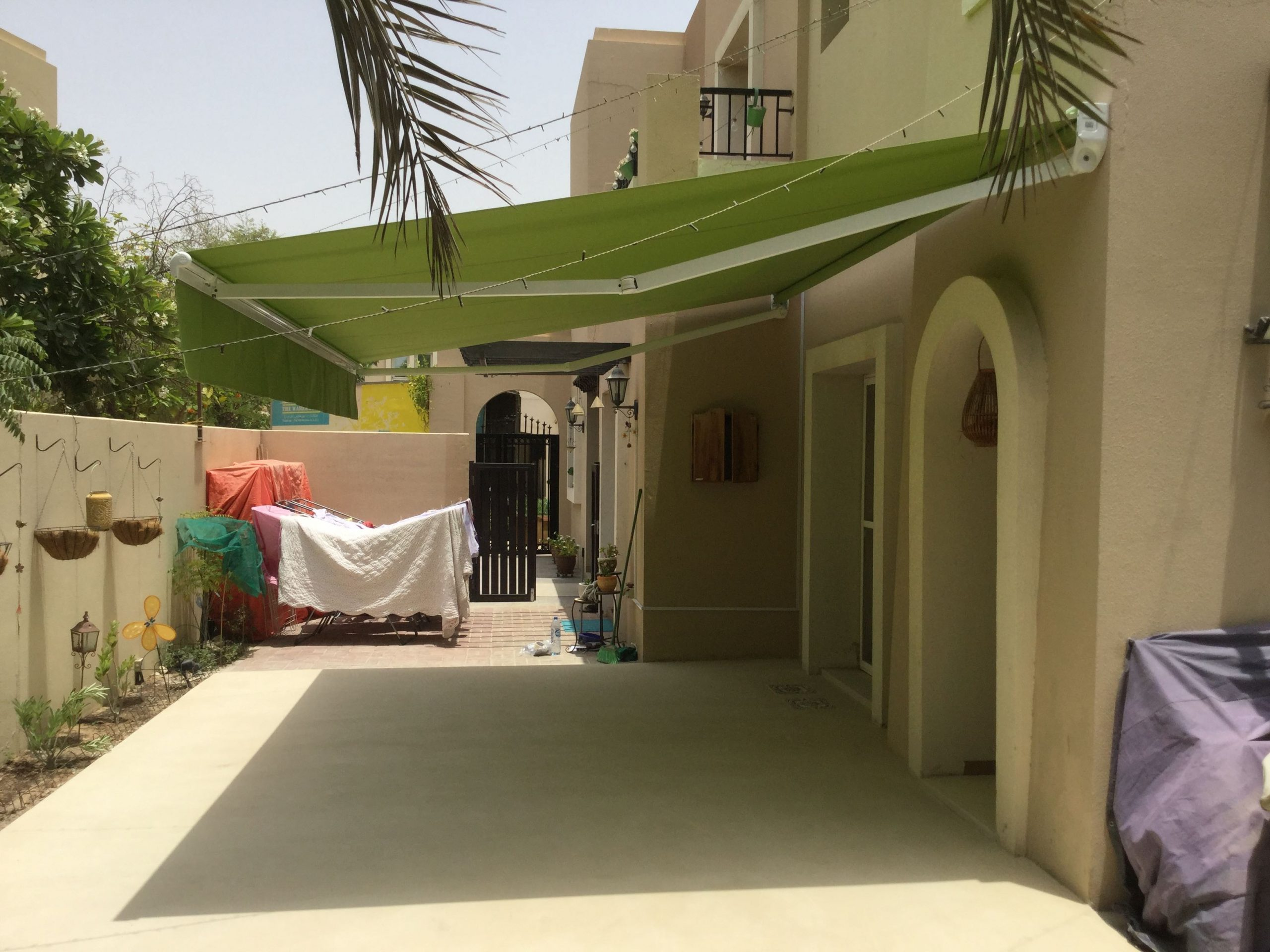 Complet pro Awning installed in Arabian Ranches