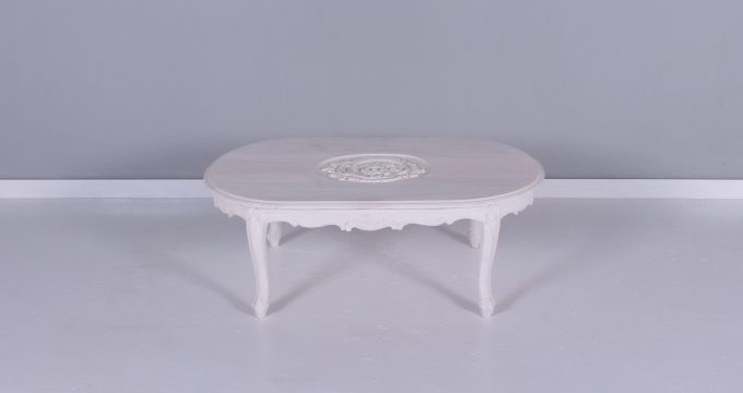 11761 BELGIA Coffe table with Carved | Falaknaz - the Warehouse