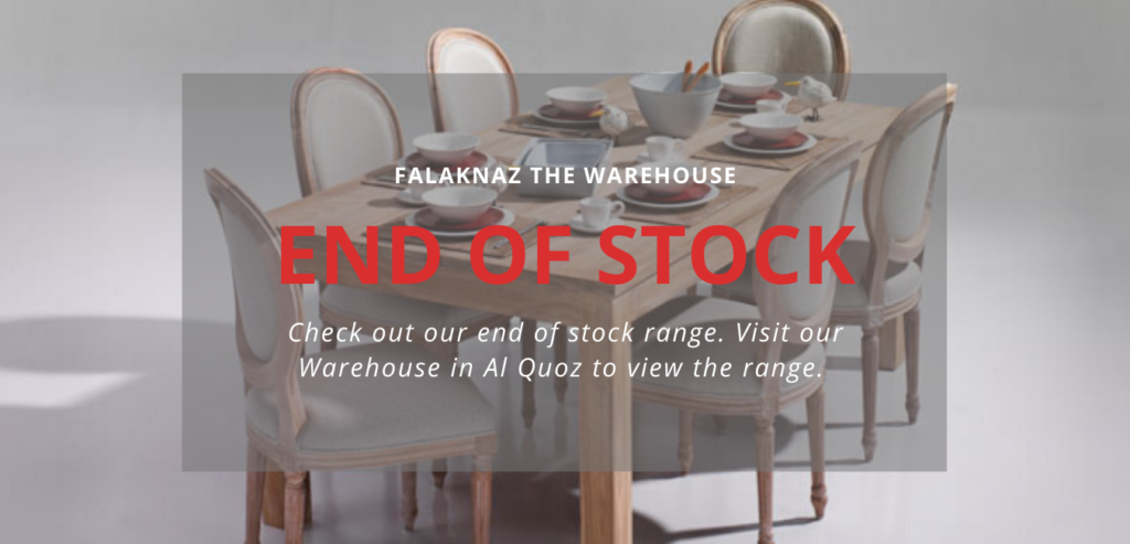 The Warehouse Dubai Furniture PromotionsFalaknaz The Warehouse