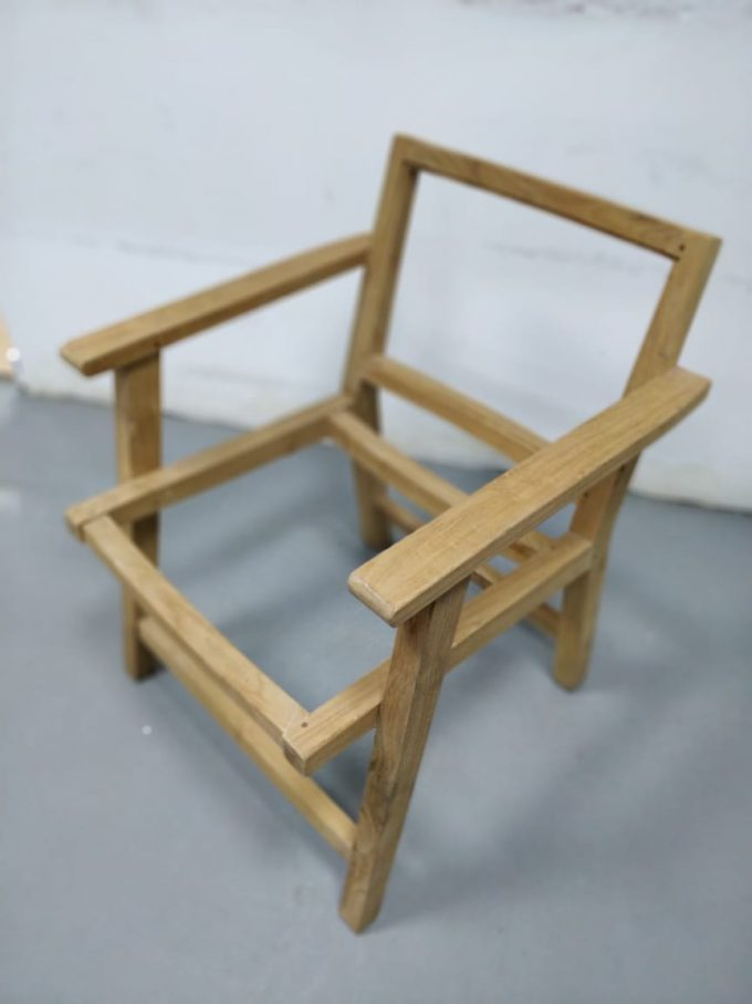 Chair Frame Only | Falaknaz - the Warehouse